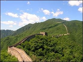 Quel est cet ensemble de fortifications se trouvant en Asie ?