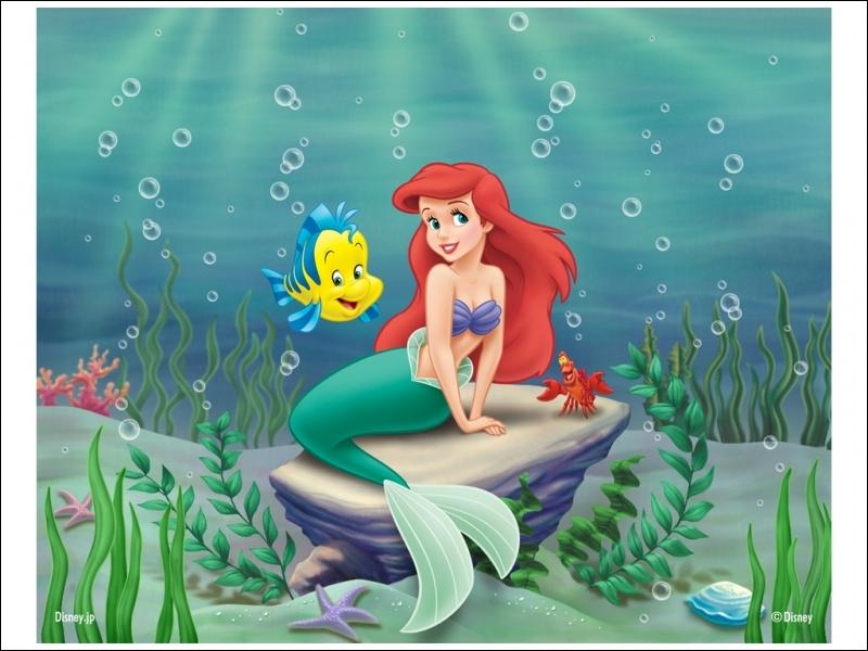 Son père s'appelle Triton, elle vit sous l'eau !