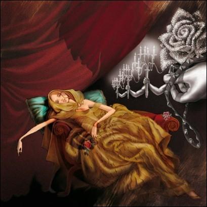 Prisonnière dans un château, mais la bête tombe amoureuse d'elle !