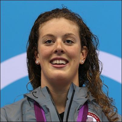 Qui est cette nageuse américaine ?