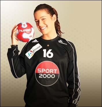 Qui est cette handballeuse française ?