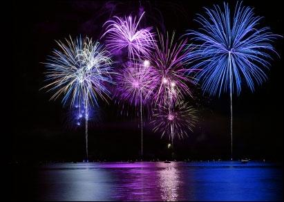 Le feu d'artifice du 14 juillet représente...