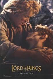 Au début du film, que dit Sam à Frodon ?