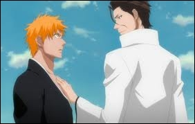 Aizen est comme Ichigo : mi-shinigami mi-Hollow.