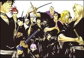 Pour être lieutenant de sa division il faut être le shinigami le plus puissant de sa division (sans compter le capitaine).
