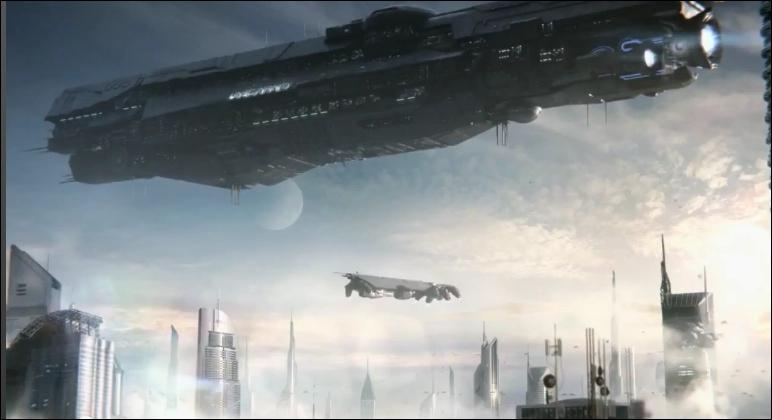 Qui est le commandant du navire expérimental, l'Infinity ?