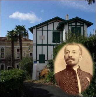C'est dans cette maison d'Hendaye, surnommée   La maison du solitaire   que cet écrivain s'inspirera pour écrire son roman   Ramuntcho   en 1897 ... .