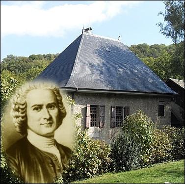 Les Charmilles   près de Chambéry sera ' la maison du bonheur ' pour cet écrivain , qui de 1736 à 1742 y élèvera pigeons et abeilles tout en composant ses premiers essais ... .