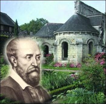 Ce   Roi des poètes   termina ses jours au Prieuré de St-Cosme en Touraine . C'est dans ce cloître qu'il a écrit bon nombre de ses oeuvres entre 1565 et 1585 ... .