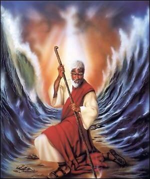 Quelle mer Moïse a-t-il séparée en deux ?