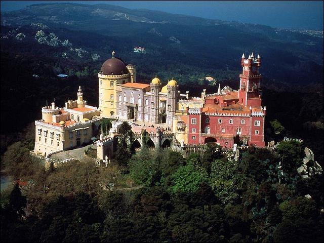 Quel est ce palais romantique ?