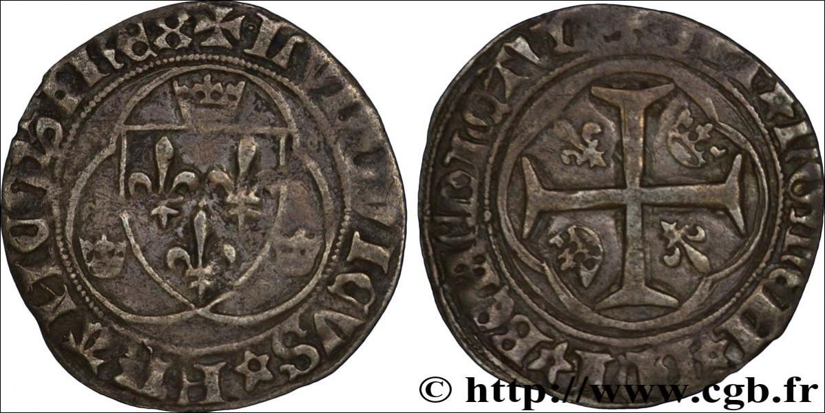 Cette pièce royale a été frappée à l'effigie des armoiries d'un roi particulièrement radin (d'ailleurs toutes les pièces frappées pendant son règne sont en billion). Quel est ce roi ?
