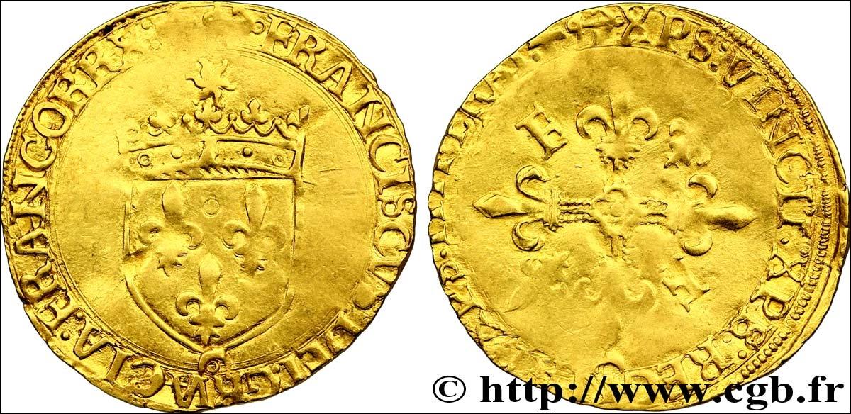 Cette pièce en or frappée sous François Ier marque définitivement la fin de la numismatique du Moyen Age. Dans quelle ville fut-elle frappée ?
