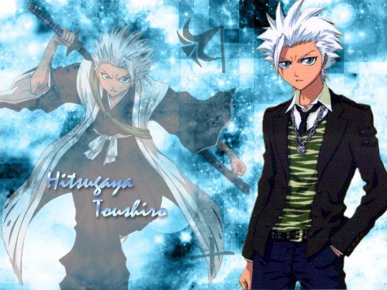 Bleach : Toshiro et Gin