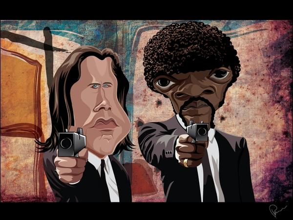 Dans quel film de légende avez-vous vu ces deux personnages ?
