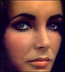 Elisabeth Taylor, superbe noire de cheveux aux yeux presque violets, est-elle noire naturelle ?