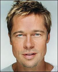Brad Pitt, superstar qu'on a comparé à Robert Redford pour son physique de blond, est-il justement un vrai blond ?