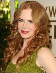 Nicole Kidman, ici en rousse, est-elle une vraie rousse ?