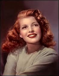 Rita Hayworth, la star absolue à l'époque, rousse incendiaire, était-elle une vraie rousse ?