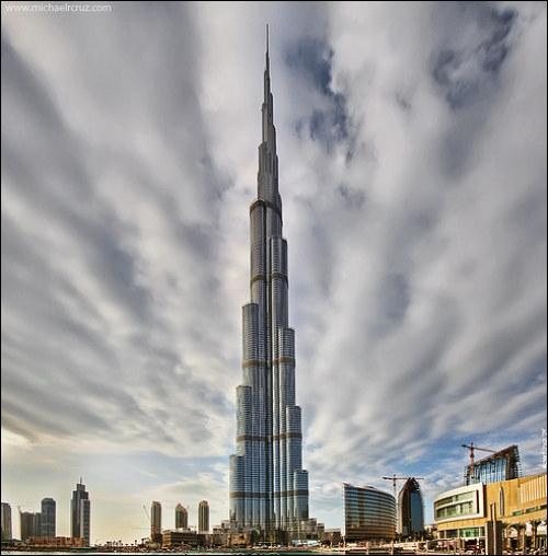 Où se situe ce monument ? Burj-Khalifa (+ haute tour du monde en 2012)
