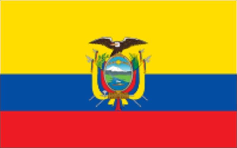 Plus au sud, une vaste  Grande-Colombie  a existé après les indépendances, avant de se disloquer vers 1830. Ce drapeau est celui d'un pays situé sur une ligne imaginaire, mais bien pratique.