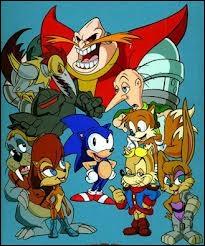 En tout, 2 séries télé de Sonic ont été créées. Vrai ou faux ?