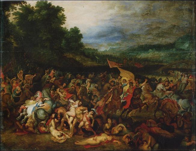 Le récit des Amazones a influencé plusieurs peintres et écrivains. À qui doit-on l'oeuvre baroque  La Bataille des Amazones  ?