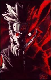 Naruto a hérité, de sa mère, la totalité du chakra de Kyubi dé sa naissance.
