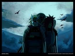 Le premier adversaire du Rikudou Sennin était le chef du Clan Uchiwa : Madara.