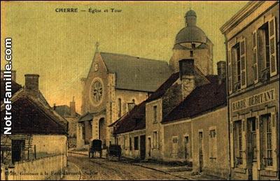 Géographie : Dans quel pays se trouve la ville de Cherré ?