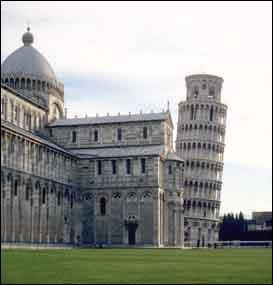 La tour de Pise penche en Europe.