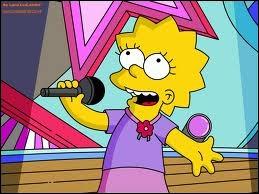 De quel instrument Lisa joue-t-elle ?