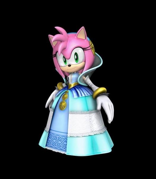 Qui Amy interprète-t-elle dans ce jeu ?