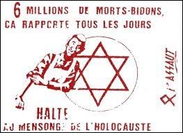 Par quel terme les historiens désignent-ils ceux qui contestent l'existence des chambres à gaz et nient la réalité du génocide juif par les nazis ?
