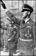 Quel est le nom du haut responsable de la RSHA qui , à la tête des commandos de la mort (les Einsatzgruppen )assassinèrent plus d'un million de personnes. C'est la 1ère phase de la Shoah dite  Shoah par balles