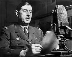 À quelle date a-t-il appelé, sur les ondes de la BBC, les Français à continuer la lutte contre l'Allemagne nazie. Ce discours est considéré comme l'acte fondateur de la Résistance.