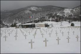 Quelle terrible bataille, en 1944, a anéanti la plus importante base de résistance (4000 hommes) dans un massif montagneux des Préalpes ?