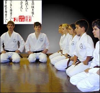 Pour s'asseoir dans le dojo, comment s'appelle la position agenouillée ?