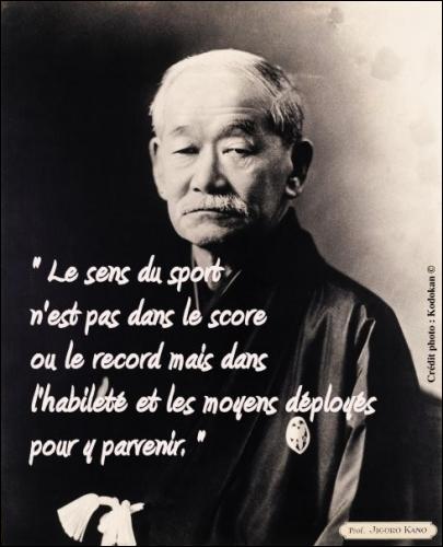 Quelle est l'une des citations, de Gichin Funakoshi ?