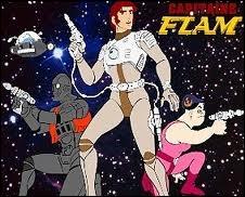 Complétez : Capitaine Flam tu n'es pas / De notre galaxie / Mais du fond de la ...