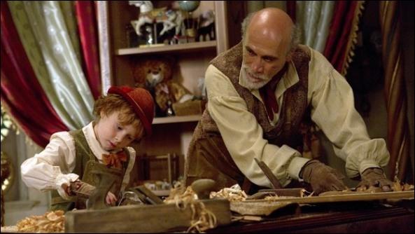 Quel est le prénom de Geppetto dans notre monde ?