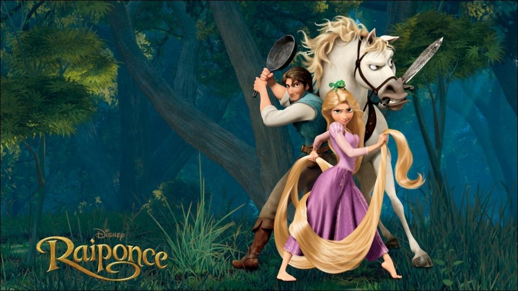 Dans le film d'animation  Raiponce , un personnage Disney bien connu vient se glisser dans une des scènes du film. Lequel ?