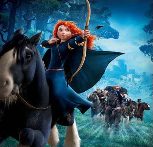 Dans le dernier Disney / Pixar,  Rebelle , l'héroïne, Mérida, traverse les sentiers écossais sur le dos de son fidèle cheval. Quel est le nom du cheval ?