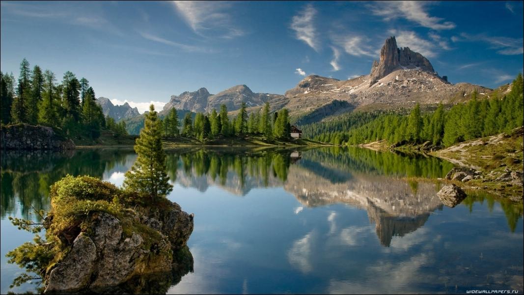 Dans ce paysage nord-américain, vous avez une petite chance de voir ...