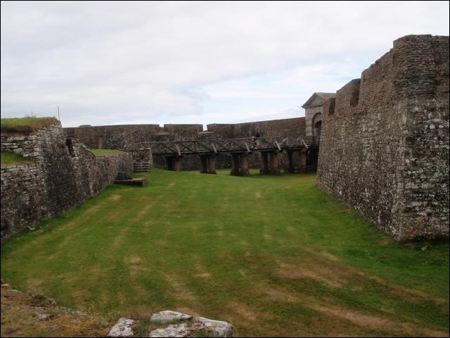 Par contre, aux alentours de ce vieux château, comme partout en Irlande, vous n'avez aucune chance de trouver ...