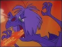 Mme Mim avait-elle le droit de se transformer en dragon ?