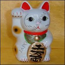 Dans la culture japonaise, quel est cet animal qui porte chance ?