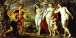 Selon la légende, Zeus lui demanda sur le mont Ida de désigner la plus belle des 3 déesses : Héra, Athéna ou Aphrodite. Il devait remettre une pomme d'or à celle qu'il aura choisie. Le jugement de Pâris donna naissance à quel mythe ?