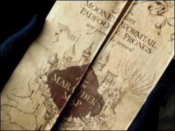 Qui sont les auteurs de la carte du maraudeur ?