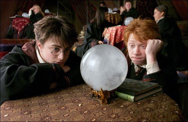 Quelle nouvelle matière Harry, Ron et Hermione vont-ils étudier ?